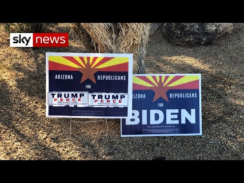 US election: Can Trump hang on to Arizona?