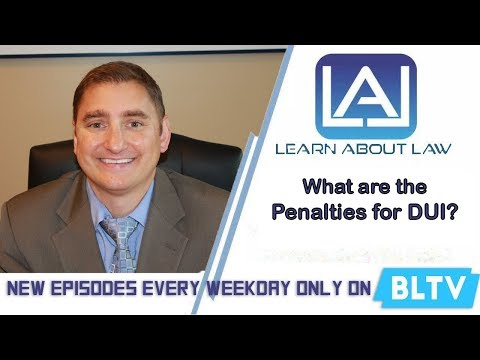 Penalties for DUI in Illinois   Learn About Law