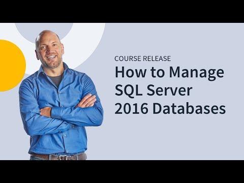 Microsoft MCSA SQL Server 2016 70-761 - YouTube