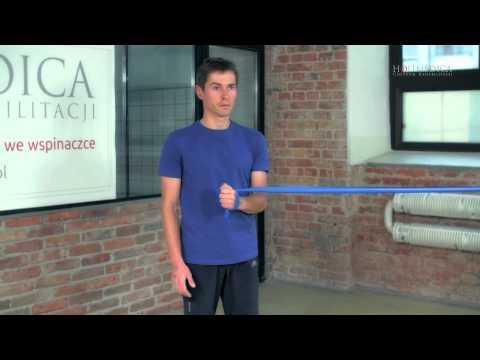 Naramienne ćwiczenia grupy mięśni