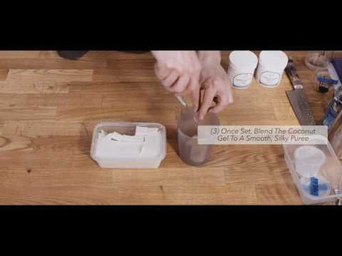 Coconut Mousse Using Special Ingredients Carrageenan