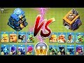 New TH 12 Troops vs BH Troops Clash of clans Ultimate Battle Town Hall vs Builder Base Troops