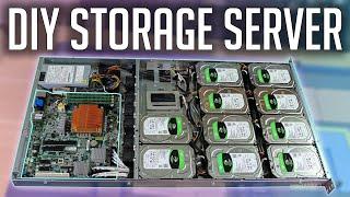 Budget Storage Server 2021! | 80TB NAS