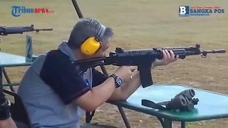Danrem Ajak Pejabat Latihan Menembak