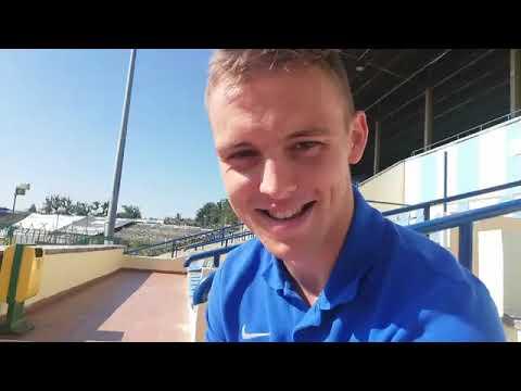 Rozmowa z Arturem Siemaszko przed meczem GKS Bełchatów - Stomil