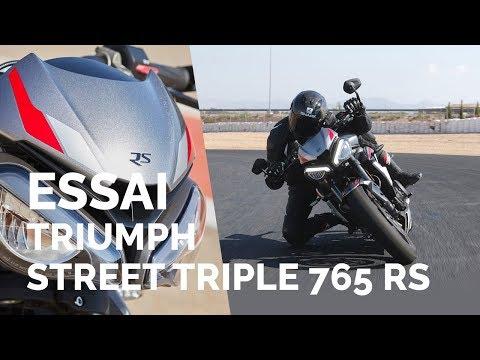 Essai Triumph Street Triple 765 RS (2019)