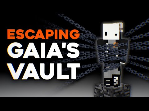 Escaping Minecraft's Most Perfect Prison (gaia's vault v3) ft. SeenSven