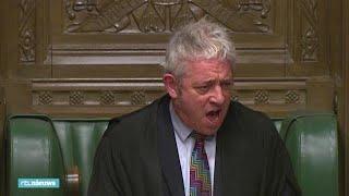 'Order! Order!' Speaker komt amper boven chaos uit bij brexitstemming - RTL NIEUWS