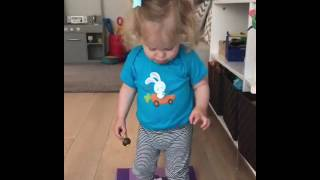 I want to teach my kid yoga but they won't sit still!