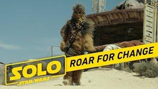 Star Wars #RoarForChange - Video Youtube