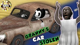 BENDY takes GRANNY's CAR & Gurkey Turkeys love FGTEEV Songs - HAHAHA