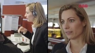 ÖBB Perspektivenwechsel: Die ÖBB Personenverkehr Vorständin Valerie Hackl im Call Center