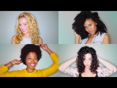 Video How to Wash & Style Curly Hair