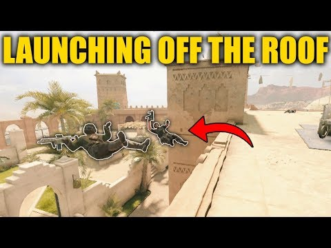THROWING PLAYERS OFF THE ROOF WITH NOMAD! - Rainbow Six Siege