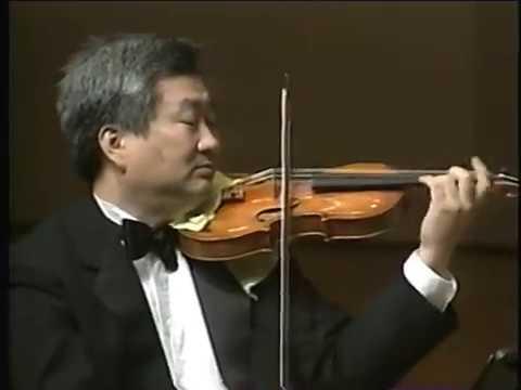 Schumann piano quartet concert in Korea