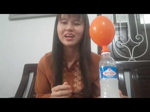 Thí nghiệm vui: Thổi bong bóng. Giáo viên thực hiện: Nguyễn Thị Thảo