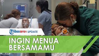 Ekki Soekarno Terbaring Lemah, Soraya Haque: Saya Ingin Menua Bersama Kamu, Suamiku