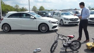 2017 Mercedes A Class Review - A180 AMG and A160 Test Drive Interior Exterior