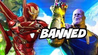 Avengers Infinity War Banned Scenes Explained - NO SPOILERS