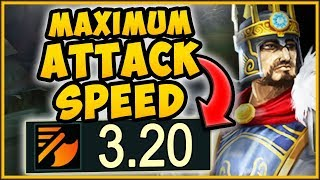 MAX ATTACK SPEED ON-HIT TRYNDAMERE CHALLENGE IS 100% NUTTY! TRYNDAMERE SEASON 9! - League of Legends