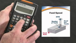 Machinist Calc Pro Feed and Speed How To Calculate