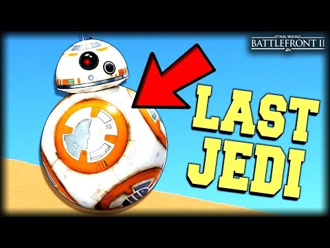 Star Wars Battlefront 2 - Funny Gameplay Moments (Failed Last Jedi Predictions)