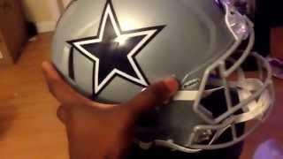 Unboxing Nfl Dallas Cowboys Helmet