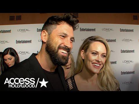Maksim Chmerkovskiy & Peta Murgatroyd Talk 'DWTS,' Amber Rose's Sweet Gifts | Access Hollywood