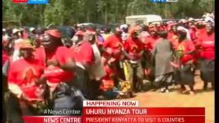 Uhuru Kenyatta Nyanza tour