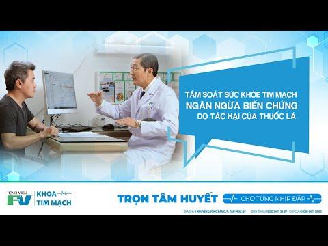 Tầm Soát Sức Khỏe Tim Mạch Ngăn Ngừa Biến Chứng Do Tác Hại Của Thuốc Lá