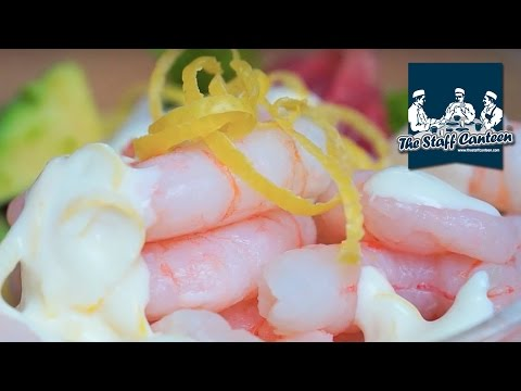 How to create a prawn cocktail recipe with a zingy sauce