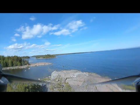 DJI digital FPV failsafe over an island in the sea - Holybro Kopis2 HDV (2020 #69)
