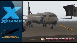 x plane 11 zibo 737 startup - TH-Clip