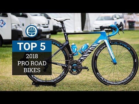 Top 5 – Pro Road Bikes 2018