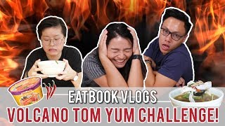 Finish this Volcano Tom Yum in 15 Mins and it is FREE! | Eatbook Challenges | EP 2