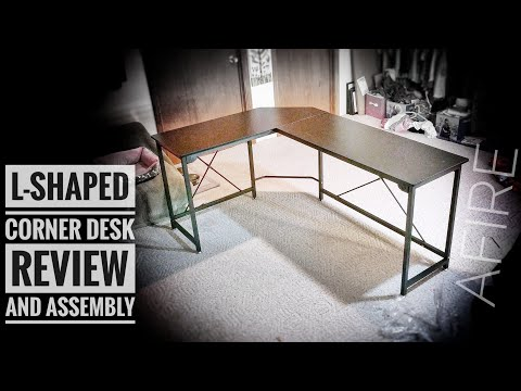 Ulikit L-Shaped Office Desk Review & Assembly