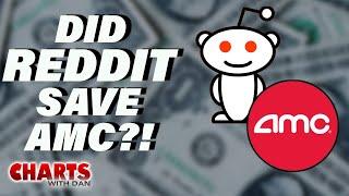 Did Reddit Just Save AMC? -  Charts with Dan!