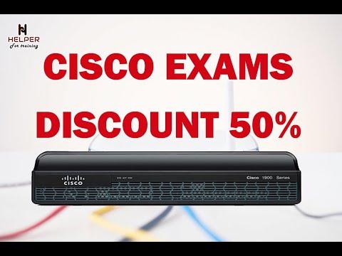 CISCO EXAM DISCOUNT 50% | AHMED HASSAN - YouTube