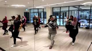Project Dance Fitness - Belly Dancer ( Bananza ) - Akon ( Yishun )
