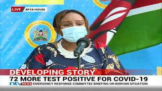 Kenya's Covid-19 cases rise to 1,286 as Lang'ata reports 21,