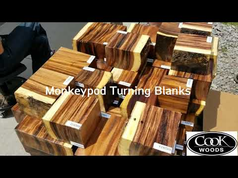Download Monkey Pod Woodworking With A Fantastic Exotic Wood Video