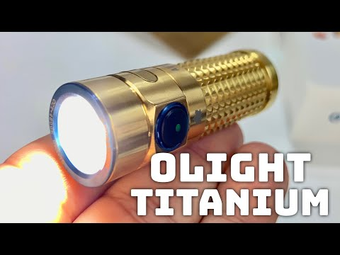 Olight S1R II Ti Limited Edition Titanium LED Baton Flashlight Review