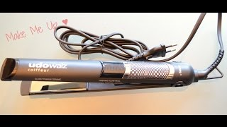 Unboxing: Haarglätter Udo Walz B100 Coiffeur Performance
