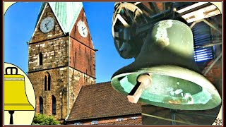 preview picture of video 'Bremen: Glocken der Evangelisch Reformierten Martinikirche (Plenum)'