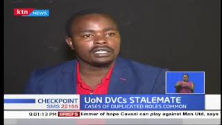 University of Nairobi  DVC stalemate continues