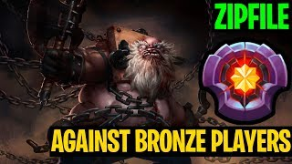 Master Pudge Against Bronze Player - Zipfile - Dota2
