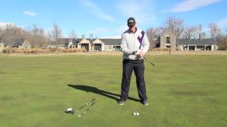 preview picture of video 'Millbrook Resort: Golf Lessons - Ball Positions'