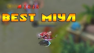 Unutulan kahramanlarda bugün | 200 k Miya oyunu sal | Mobile Legends
