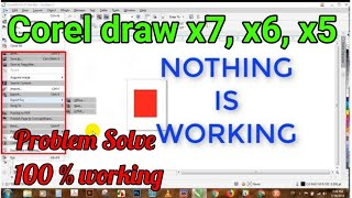 Urgent Coreldraw Has Switched To Viewer Mode Fix X7 - Video