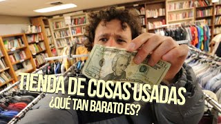 ¿Cuánto compramos con $20 en una TIENDA DE PULGAS? 🛍💰 | Thrift Shop